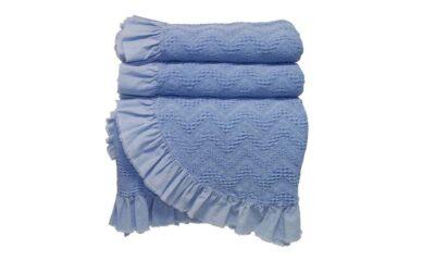 92175952 400x240 - Покрывало синее