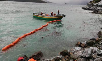 Chile: minera derrama más de 40 mil litros de diésel al mar