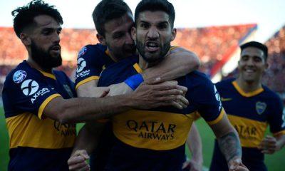 Boca venció a San Lorenzo a domicilio