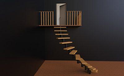 Сборные лестницы из металла