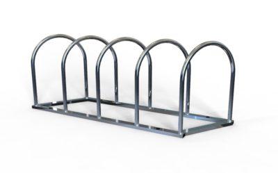 Стоянка для велосипедов из нержавейки