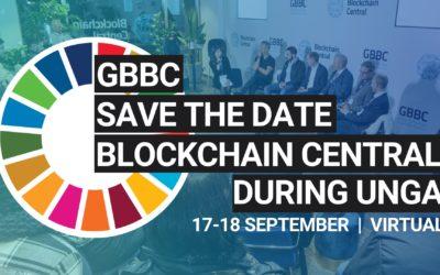 BLOK CEO Alex Tai speaks at GBBC Blockchain Central UNGA