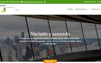 Re-disseny de Vaciados Ríos