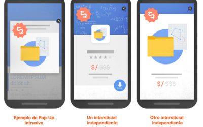 ¿Miedo a los pop-up por la penalización de Google?