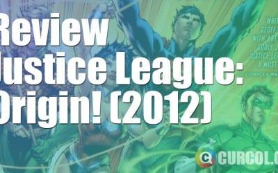 Review Justice League: Origin (2011)