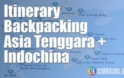 Begini Itinerary Backpacking Asia Tenggara. Berangkat? - Bagian 1