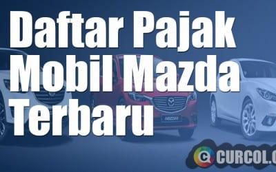 Daftar Pajak Mobil Mazda Terbaru