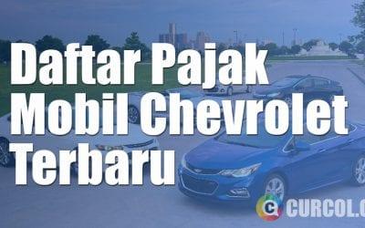 Daftar Pajak Mobil Chevrolet Terbaru