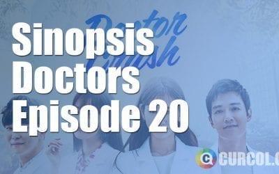 Sinopsis Doctors Episode 20 (2016)