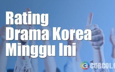 Rating Drama Korea Minggu Ini Periode 11 Oktober - 17 Oktober 2016
