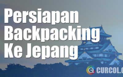 Persiapan Backpacker Ke Jepang