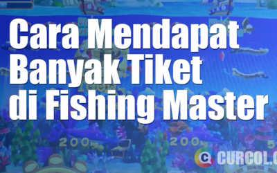 Cara Mendapat Banyak Tiket di Mesin Arcade Fishing Master