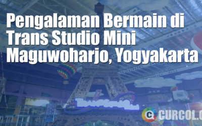 Pengalaman Bermain di Trans Studio Mini Maguwoharjo, Yogyakarta