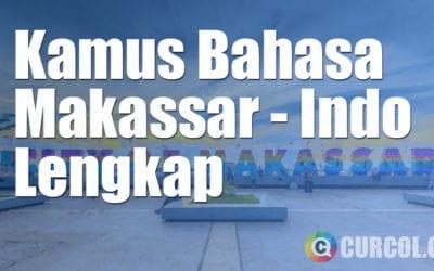 Kamus Bahasa Makassar Lengkap