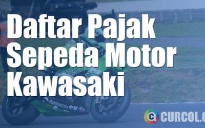 Daftar Pajak Sepeda Motor Kawasaki Terbaru