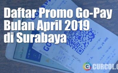 Daftar Promo Go-Pay Bulan April 2019 di Surabaya