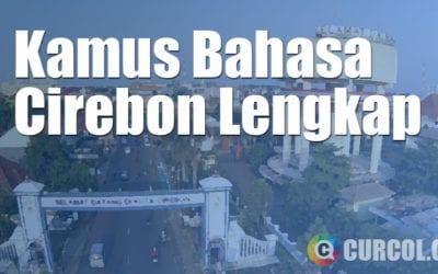 Kamus Bahasa Cirebon Lengkap