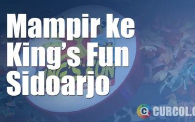 Mampir ke King's Fun Sidoarjo