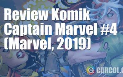 Review Komik Captain Marvel #4 (Marvel, 2019)