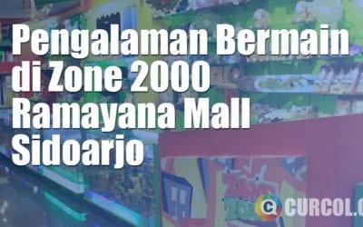 Pengalaman Bermain di Zone 2000 Ramayana Sidoarjo