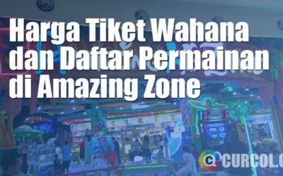 Harga Tiket Wahana dan Permainan di Amazing