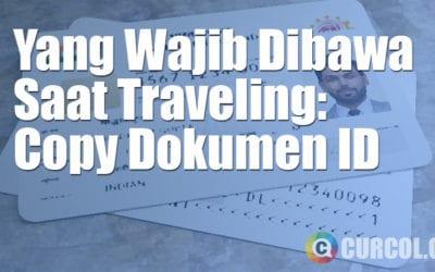 Yang Harus Dibawa Saat Traveling: Dokumen Identitas Pribadi