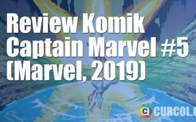 Review Komik Captain Marvel #5 (Marvel, 2019)