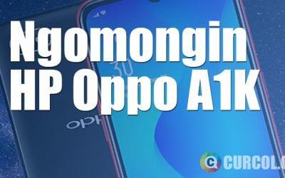 HP Oppo A1K, Cocokkah Jadi Teman Traveling?