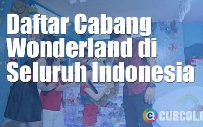 Daftar Lokasi Cabang Wonderland di Seluruh Indonesia
