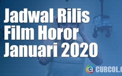Jadwal Rilis Film Horor Lokal Di Bioskop Bulan Januari 2020