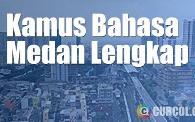 Kamus Bahasa Medan Lengkap