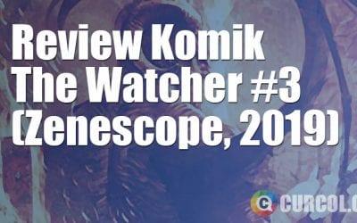 Review Komik The Watcher #3 (Zenescope, 2019)