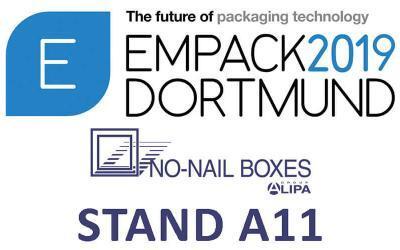 NO-NAIL BOXES : Des emballages 100 % recyclables au salon EMPACK de Dortmund