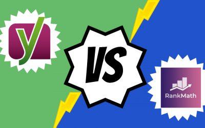 Rank Math vs Yoast SEO: ¿Cuál de los dos es mejor Plugin SEO para WordPress?