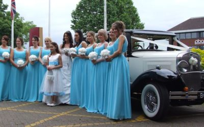 Different Daughter, Different Wedding Cars