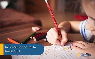 immature pencil grip