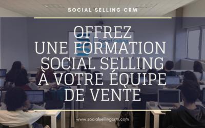 Offrez une formation social selling à votre équipe de vente