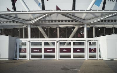 Webnet Frames på London Stadium