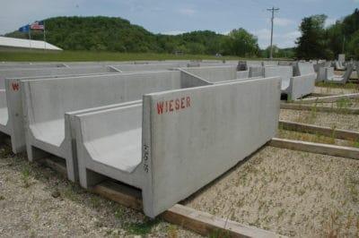 Calf Feed Bunk Precast Concrete