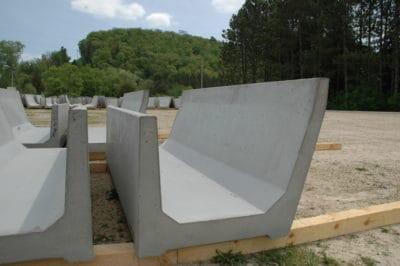 Super Feed Bunk Precast Concrete