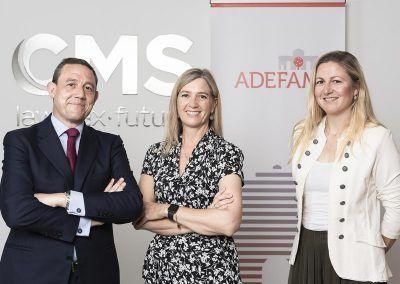 ADEFAM firma un convenio de colaboración con CMS Albiñana & Suárez de Lezo