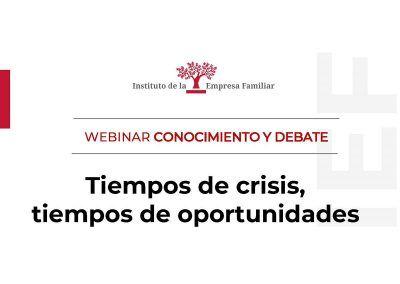 Tiempo de crisis, tiempos de oportunidades