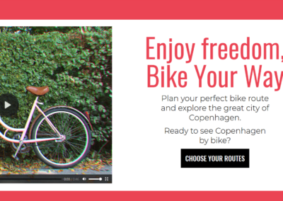 Bike Your Way – Campaign Website