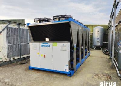 Sirus installed an Engie Chiller at Weener Plastics, Limerick