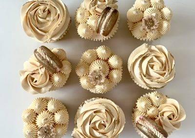 muffinki bezowo zlote