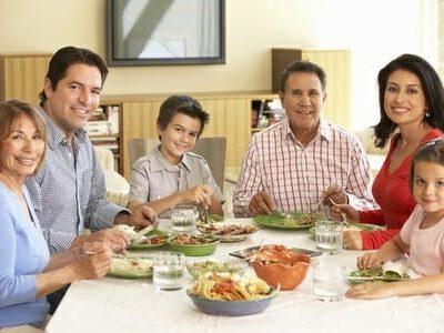 Alimentazione corretta nella famiglia allargata