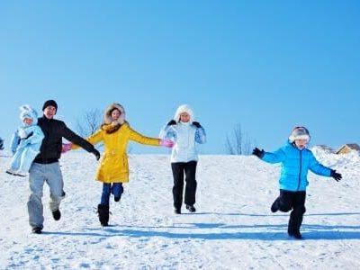 Bambini: tanta attività fisica anche d'inverno