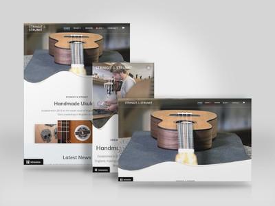 Ukulele Maker Website