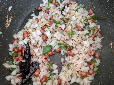 Saute onions until translucent