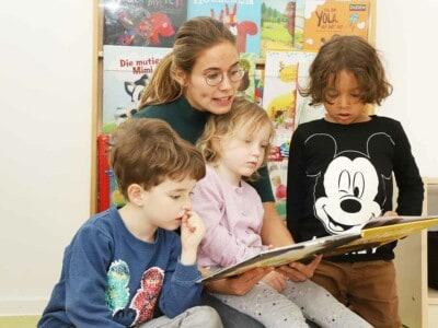 element-i Magazin Kleinkinder beim Entdecken der Sprache begleiten
